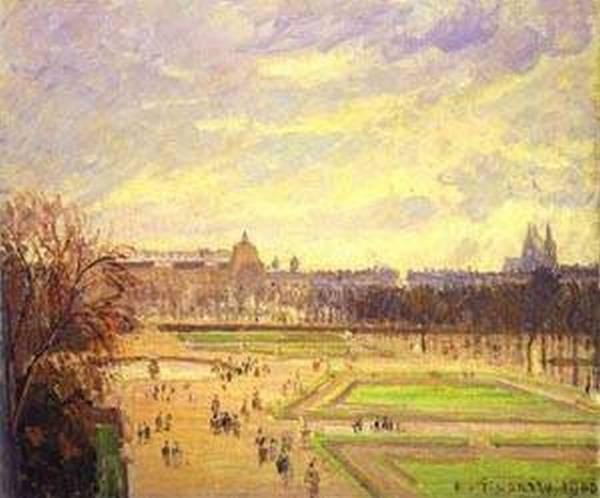 Gardens of tuileries jardin des tuileries 1900 xx st petersburg russia